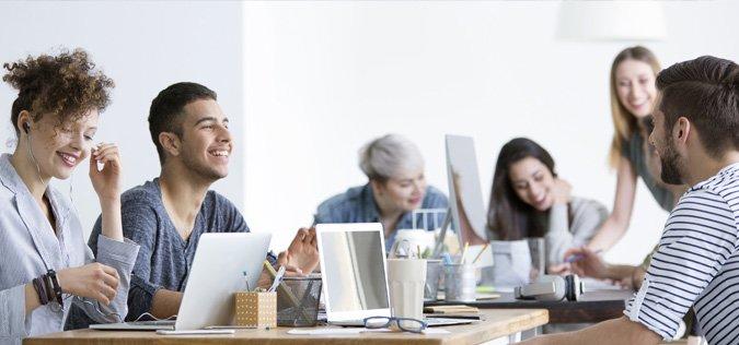 De vier elementen die noodzakelijk zijn voor werkgeluk